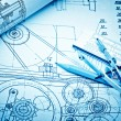 Industrial drawing — Stock Photo #55490369