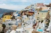 Santorini, řecko — Stock fotografie