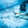 Industrial drawing — Stock Photo #56554625