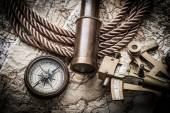 Vintage marine still life — Stock Photo