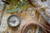 Vintage marine still life — Stock Photo