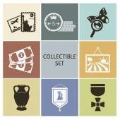Collecting — Stock Vector
