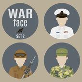 Soldiers — Wektor stockowy