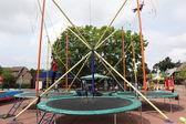Amusement park in Palanga, Lithuania — 图库照片