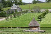 Castello di Ercole giardino di blair — Foto Stock