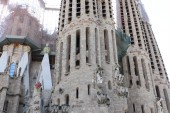La Sagrada Familia by Gaudi — Stock Photo