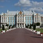 Catherine Palace in Tsarskoye Selo — Stock Photo #55704011