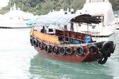 Sailing boat in Hong Kong — Stock Photo