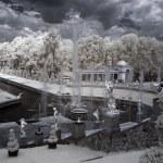 Grand cascade in Pertergof, Saint-Petersburg — Stock Photo #56220203