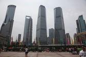 Architecture in Shanghai, China — Stock Photo