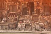 Aerial view of Shanghai, China — Stock Photo