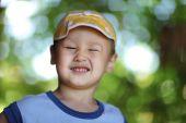Smiling happy boy — Stock Photo