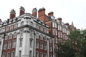 Victorian houses in London — Stock Photo