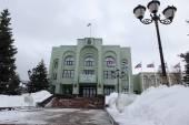 SAMARA, RUSSIA - NOVEMBER 5: Administration building in Samara — Stock Photo