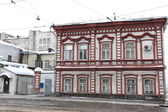 SAMARA, RUSSIA - NOVEMBER 5: Buildings at winter in Samara, Russia. — Stock Photo