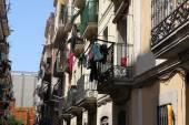 Old Street in Barcelona — Stock Photo
