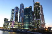 Moscow City    skyscrapers — Foto de Stock