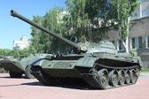 Soviet main battle tank — Stock Photo