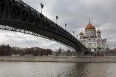 Cathedral of Christ Saviour in Moscow — Stock Photo