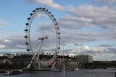 London Eye and London Cityscape — Stock Photo