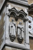 Частью Вестминстерского аббатства — Стоковое фото