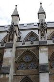 Deel van Westminster abbey — Stockfoto