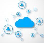 Network concept — Stock Vector