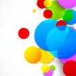 Colorful circles — Stock Vector #63811059