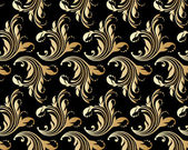 Vector ornamental seamless background. — Stock vektor