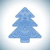 ベクトルのクリスマスの招待カード. — ストックベクタ