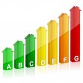 Energy efficiency — Stock Vector