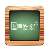 Blackboard formula — Stock Vector