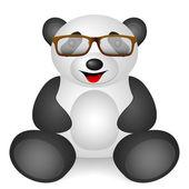 Panda glasses — Stock Vector
