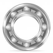 Ball bearing — Stock Vector