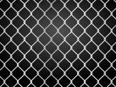 Wire staket — Stockvektor