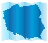 Poland map — Stock Vector