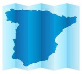 Spain map — Stock Vector