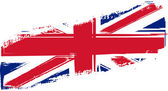 Grunge Britain flag — Stock Vector