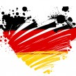 Grunge Germany flag — Stock Vector #72313143