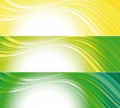 Set of bright technical banners  — Stock Vector