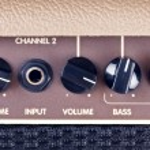 Guitar Amplifier Control Panel — Stock Photo #63827959