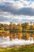 Paisagem de outono — Fotografia Stock