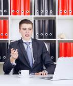Young Businessman — Stock Photo