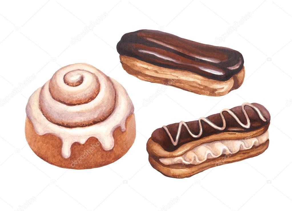 201 Clairs Au Chocolat Et Pain De Cannelle Photo 59829151