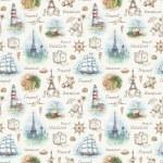 Travel seamless pattern — Stock Photo #59831109