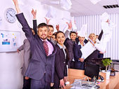 Group business people — Stock Photo