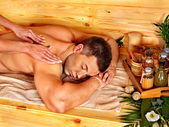 Man getting massage. — Stock Photo