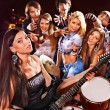 Band playing musical instrument. — Stock Photo #54369481