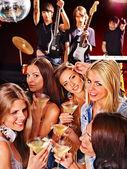 Women in night club. — Stock Photo