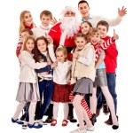 Children with Santa Claus. — Stock Photo #58344795